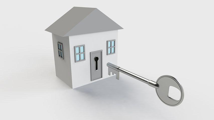 domeček na klíček
