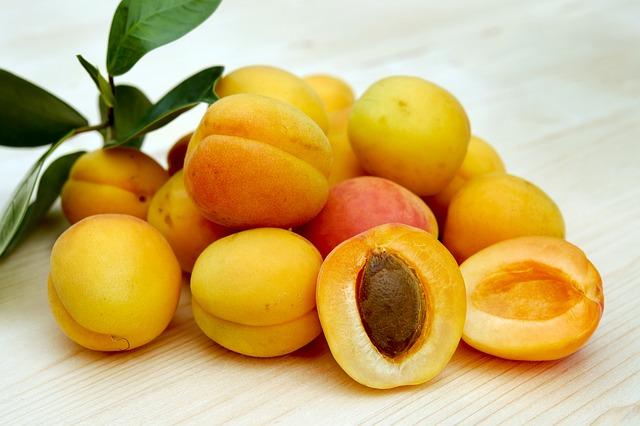 meruňky s větvičkou