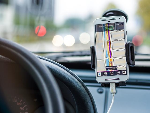 jízda s navigací