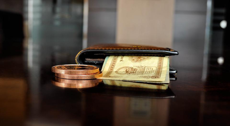 peněženka a finance